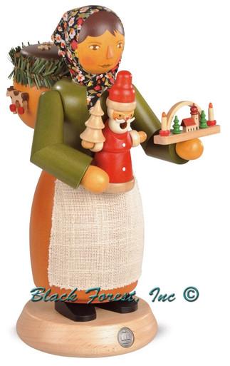16661 Woman Toy Seller Mueller Smoker