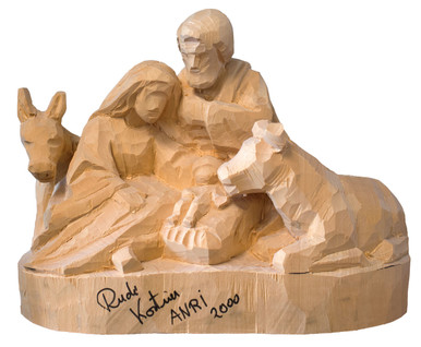 2000 Block Nativity Anri Carving Event Figure