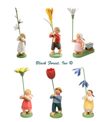 5248-2018 Blossom Children Set from Wendt and Kuhn