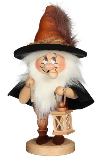 1-747 Ulbricht Incense Burner Dwarf Night Watchman Smoker