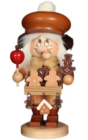 1-766 Ulbricht Incense Burner Dwarf Ginger Bread Vendor Smoker