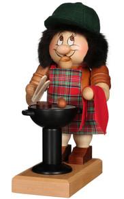1-797 Ulbricht Incense Burner Dwarf BBQ Griller Smoker