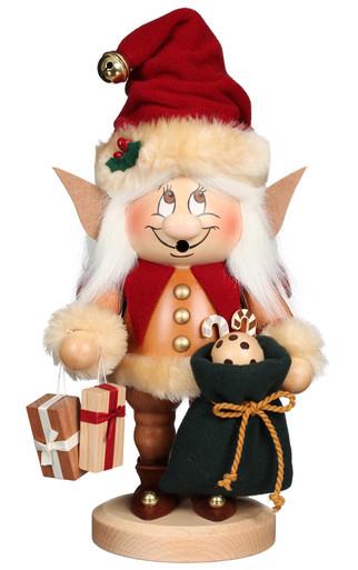 1-803 Ulbricht Incense Burner Dwarf Christmas Elf Smoker