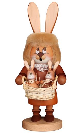 1-700 Ulbricht Incense Burner Dwarf Bunny with Babies Smoker