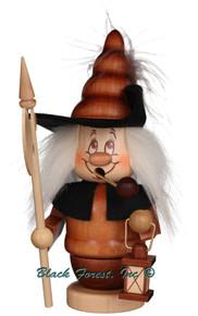 35-228 Dwarf Night Watchman Incense Burner Christian Ulbricht Smoker