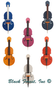 4320 Assorted Violins Ornament Set from Graupner from Germany