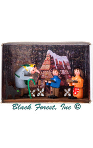 028-101 Hansel Gretel and Witch Matchbox from Germany