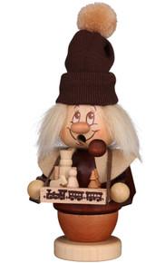 35-311 Dwarf Toy Seller Incense Burner Christian Ulbricht Smoker