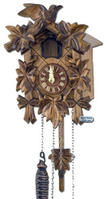 Q70-9 Anton Schneider Quartz Battery Carved Cuckoo Clock