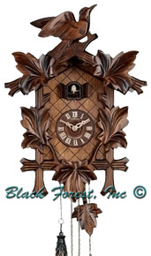 Q90-9 Anton Schneider Quartz Battery Carved Cuckoo Clock