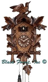 Q90-9 Anton Schneider Quartz Battery Carved Cuckoo Clock