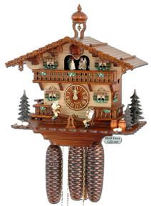 8TMT267-9 Anton Schneider 8 Day See Saw Cuckoo Clock