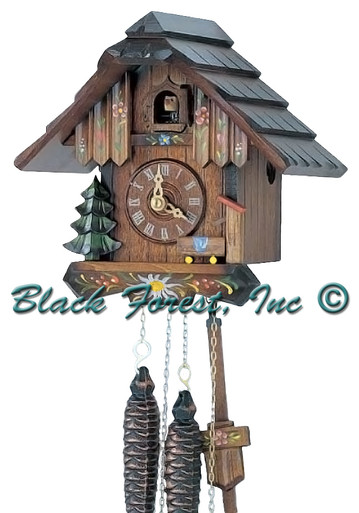 63-10 Chalet 1 Day Cuckoo Clock