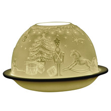 1400 Bernardaud Grenadiers Lithophane Votive