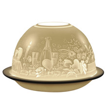 1405 Bernardaud Amours Lithophane Votive