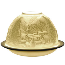 20259 Bernardaud Mountains Lithophane Votive