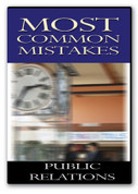 Most Common Mistakes in Public Relations-DVD