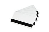 Generic PVC 30 mil cards with Low-Coercivity Magnetic Stripe CR-80, 500 ct.