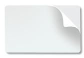 Fargo UltraCard 10 mil, adhesive Mylar-backed cards, CR-79, #82279]
