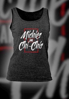 Women's Michies and chi chis muscle tank top