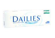 Focus Dailies Toric - 30 Pack Front