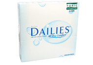 Focus Dailies Toric - 90 Pack Front