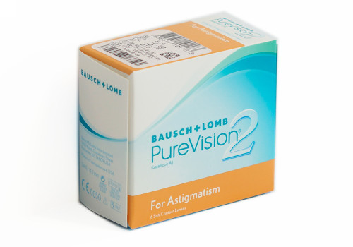 Purevision 2 HD For Astigmatism Front