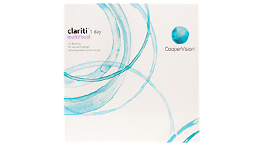 Clariti 1 Day Multifocal 90 Pack Front