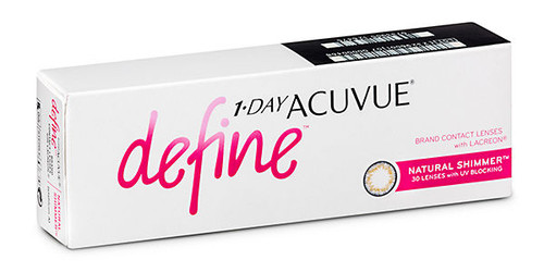 1-Day Acuvue Define - Natural Shimmer Front