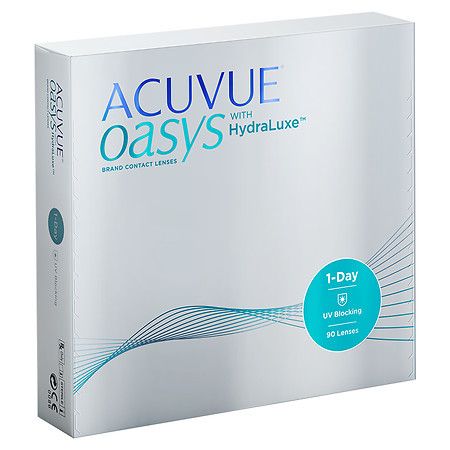 Acuvue 1 Day Oasys with HydraLuxe 90 Pack Front