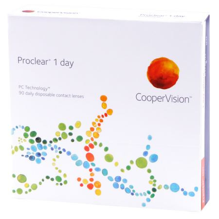 Proclear 1 Day - 90 pack Front