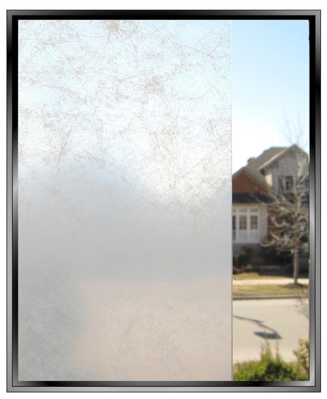 White Smoke Diy Decorative Privacy Window Film