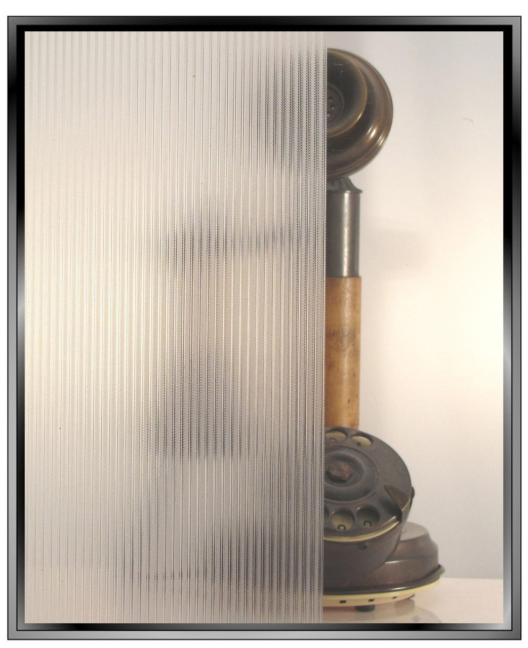 Ribbed Glass Diy Static Cling Decorative Privacy Window Film