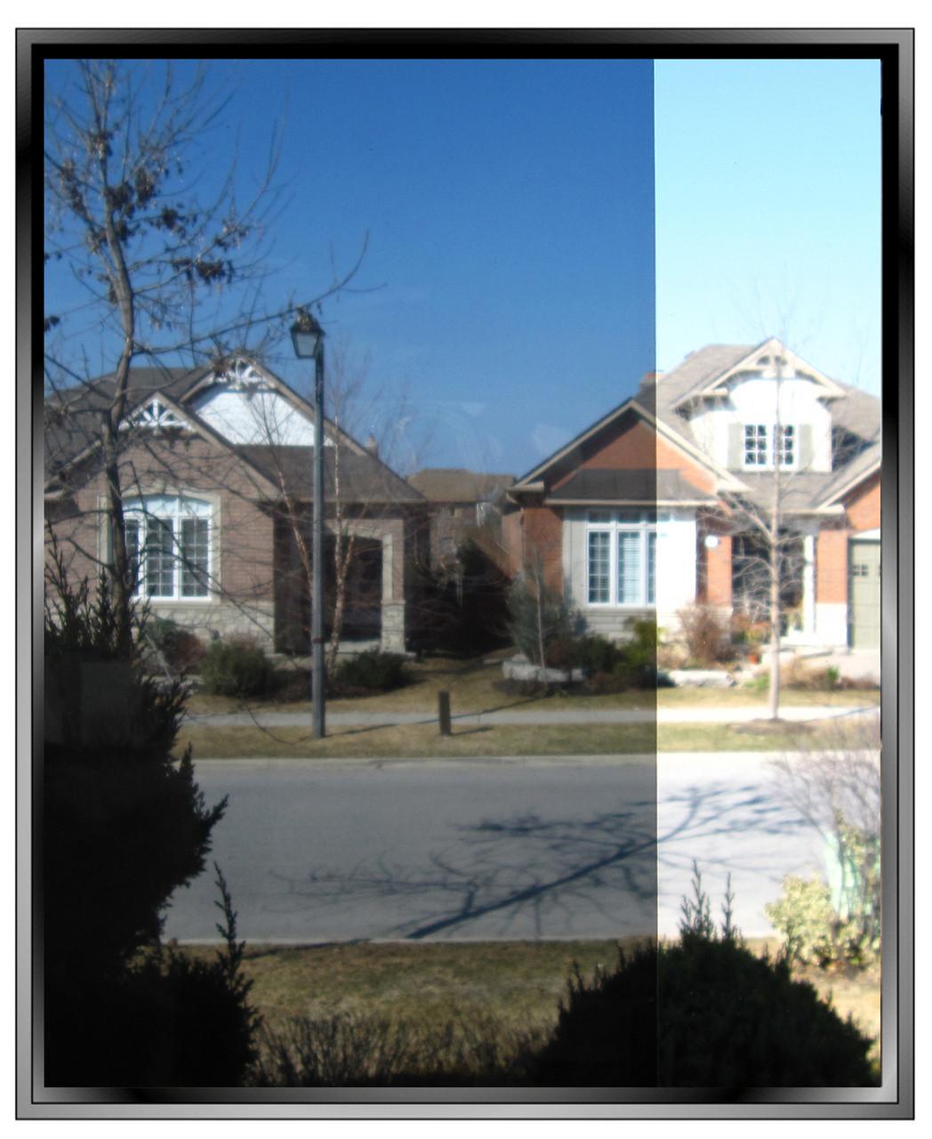 Apex Silver 20 8 Mil Tinted Security Window Film