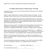 rank press release template acbl resource center