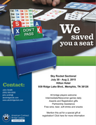 Save a Seat Fliers