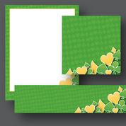 Overlaid Green & Yellow Theme Materials