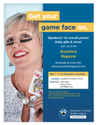 Game Face Flier (Female)