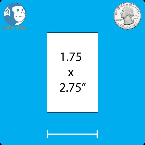 Design Your own vertical rectangle button.