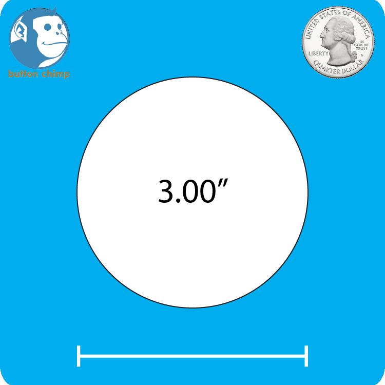 Design Your Own - 3 Inch Round Magnet