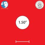 "1.50"" Round Custom Magnets"