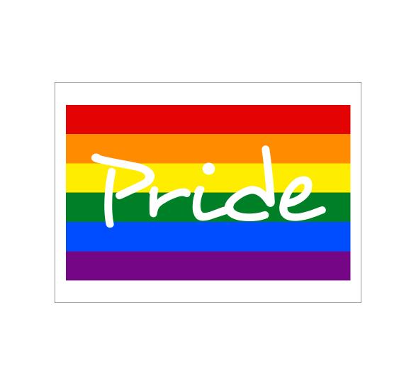Rectangle Pride Button