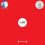"1"" Round Custom Magnets"