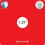 "1.25"" Round Custom Magnets"