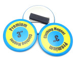 3 Inch Round Clothing Magnet Button