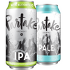 Partake Brewing Craft Non-Alcoholic Beer Mixed Case (12 cans IPA, 12 cans PALE)