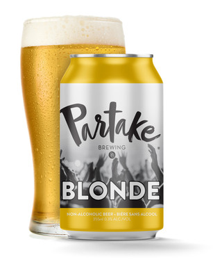 Partake Craft Non-Alcoholic Beer - Pale Blonde Lager