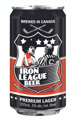 Iron League Beer - Premium Lager