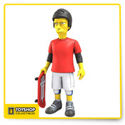 Woo hoo! Celebrate 25 years of The Simpsons! Throughout their long run, The Simpsons have met a lot of famous people, and now you can get your favorite celebrity guest star from The Simpsons as a 5-inch tall action figure! The Simpsons Tony Hawk 5-Inch Series 2 Action Figure looks just like the skateboarder in fun The Simpsons style. Ages 14 and up.