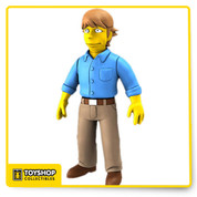 Woo hoo! Celebrate 25 years of The Simpsons! Throughout their long run, The Simpsons have met a lot of famous people, and now you can get your favorite celebrity guest star from The Simpsons as a 5-inch tall action figure! The Simpsons Mark Hamill 5-Inch Series 2 Action Figure looks just like the actor in fun The Simpsons style. Ages 14 and up.